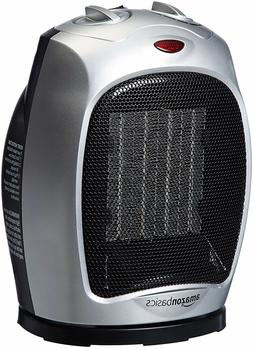 amazonbasics 1500 watt oscillating ceramic space heater