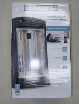 "Black+Decker Infrared Quartz Tower Space Heater 23"" Medium R"