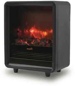 Crane Black Fireplace Heater EE-8075BK