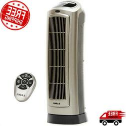 Space Heater with Remote Ceramic 1500w Electric Tower Thermo