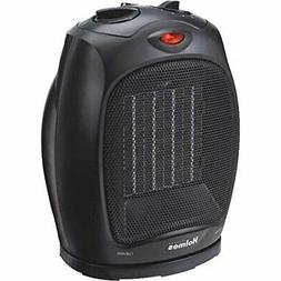 Holmes Ceramic Heater 2 Speed 1500 Watt Black Adjustable The