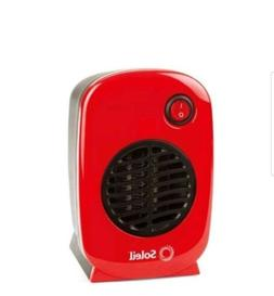 Ceramic Heater Personal Portable Soleil Electric Space Heate