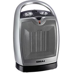 Lasko Ceramic Oscillating Compact Heater, with 1500-Watts of