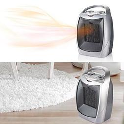 Ceramic Portable Space Heater with Adjustable Thermostat Top