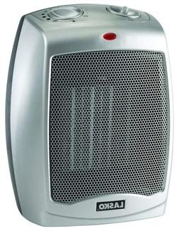ceramic portable space heater with adjustable thermostat