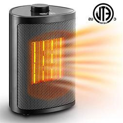 Orony Ceramic Portable Space Heater with Adjustable Heating