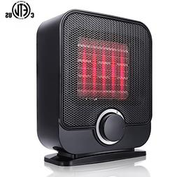 Ceramic Space Heater, Portable Personal Electric Heater, Ind