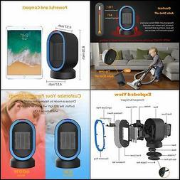 Sendowtek Ceramic Space Heater, Personal Office Heater w/Osc