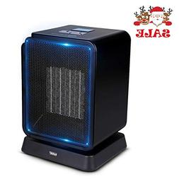 SARKI Ceramic Space Heater, Electric Safe Heater with LCD Di