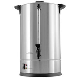 50 Cup Large Coffee Dispenser Urn Big Silver Commercial Brew