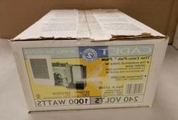 Cadet Com-Pak 1,000-Watt 240-Volt Fan-Forced In-Wall Electri