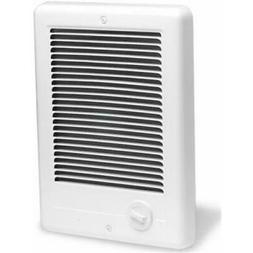 Com-Pak Plus 120V Fan Forced Wall Heater in White