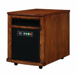 Comfort Smart Mighty Oak 1000 Sq Ft Portable Infrared Heater