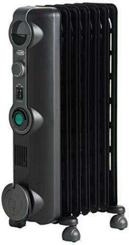 DeLonghi Comfort Temp Full Room Radiant Heater, Black