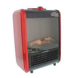 Comfort Zone CZFP1 Mini Ceramic Tabletop Fireplace Heater fo
