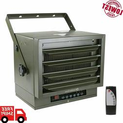 Comfort Zone Industrial Ceiling Mount Heater + Remote! 7500