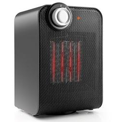 Compact Ceramic Space Heater w/ Themostat Little Heater w/ O