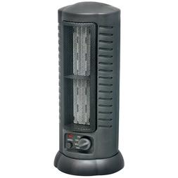 Ceramic Space Heater Tower Fan Compact Home Office Garage Os