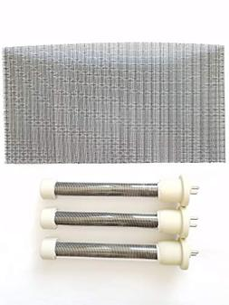 Complete Set of Longer Life Bulbs/Heating Elements 1500 watt