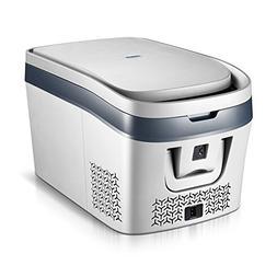 Peaceip Compressor Car Refrigerator Freezer Mini Small Car H