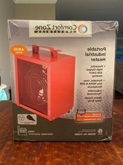 Comfort Zone CZ290 Portable 4800-Watt Fan-Forced Industrial