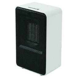 Comfort Zone Personal Ceramic Heater, White