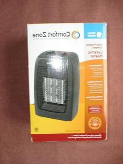 Comfort Zone CZ442 Ceramic Electric Portable Heater 1500 Wat