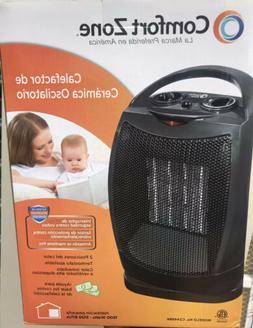 Comfort Zone CZ449 Oscillating Portable Ceramic Space Heater