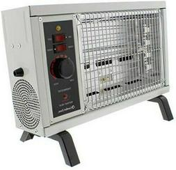 Comfort Zone CZ550 1500w Electric Radiant Space Heater with