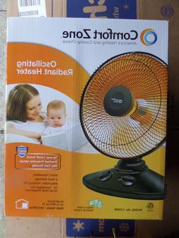 COMFORT ZONE CZ998 Oscillating Parabolic Dish Radiant Heater