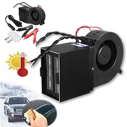 HOT SALE DC 12v Adjustable 500w 300w Ceramic Car Fan Heater