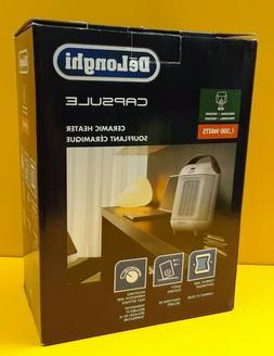 delonghi 1500 watt ceramic compact personal electric