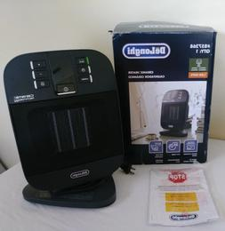 DeLonghi Ceramic Compact Personal Electric Space Heater with