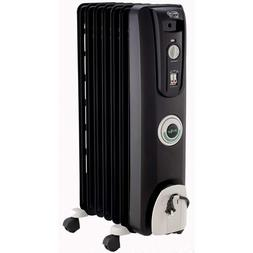 Delonghi Tower Oil Filled Radiator Heater Indoor Space Heate