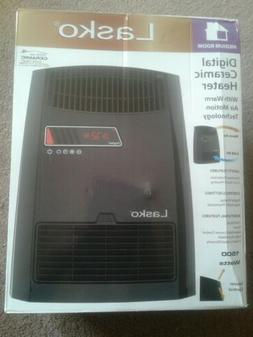 Lasko Digital Ceramic Space Heater Electric Heating 1500W Ad