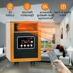 Dr Heater Infrared dr-968h 1500 Watt Portable Space Heater w