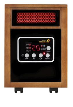 Dr. Infrared Heater 1500 Watt Portable Space Heater Remote D