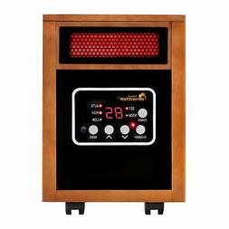 Dr Infrared Heater 1500W Dual System Portable Quartz Cherry