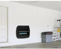 Dual Fuel Garage Heater 30,000 BTU Propane Natural Gas Blue