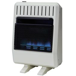 Avenger Dual Fuel Ventless Blue Flame Gas Space Heater Blowe