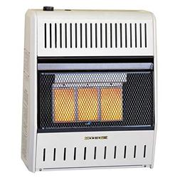 ProCom Dual Fuel Ventless Infrared Heater - 20,000 BTU, Mode