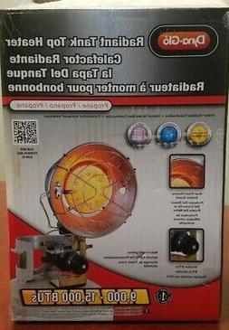 Dyna-Glo Portable Space Heater Single Burner 15,000 BTU Radi