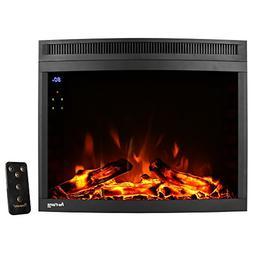 e-Flame USA Edmonton LED Electric Fireplace Stove Insert  28