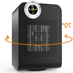 OPOLAR Electric Ceramic Space Heater with Digital Thermostat