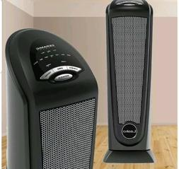Electric Ceramic Tower Heater 1500W Room Radiant Compact Spa