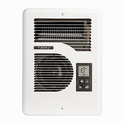 Electric Fan Wall Mounted Heater Thermostat Indoor Warm 1600