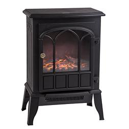 BestMassage Electric Fireplace Heater Free Standing Portable
