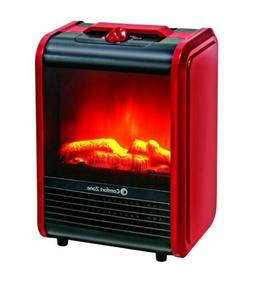 Electric Fireplace Space Heater Heat Control Winter Home Por