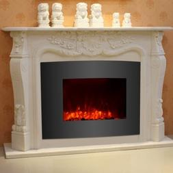 By Home Design Electric Fireplace-Wall Mounted, Adjustable
