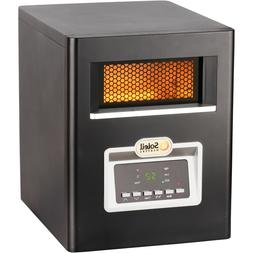 Soleil Electric Infrared Cabinet Space Heater, Remote Contro